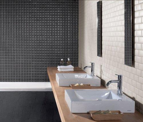 remodel bathroom with tiles in black