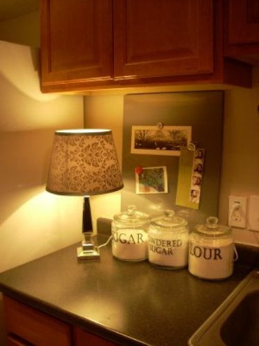 Small Kitchen Countertop Lamp